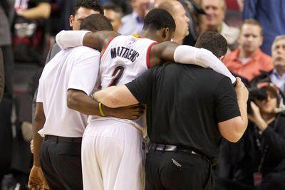 Wes Matthews' Achilles tear comes at the worst possible time for everyone