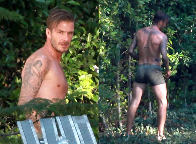 David Beckham, underwear, pants