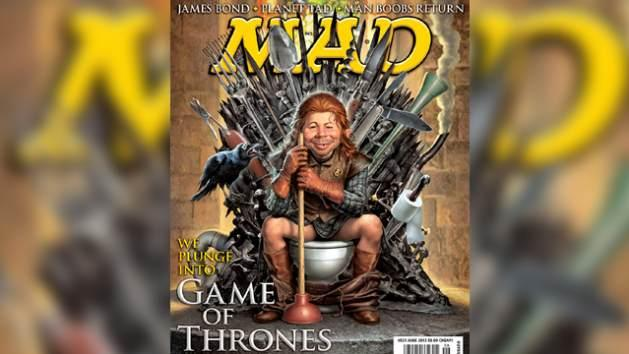 'Game of Thrones' on the cover of Mad Magazine -- MAD Magazine