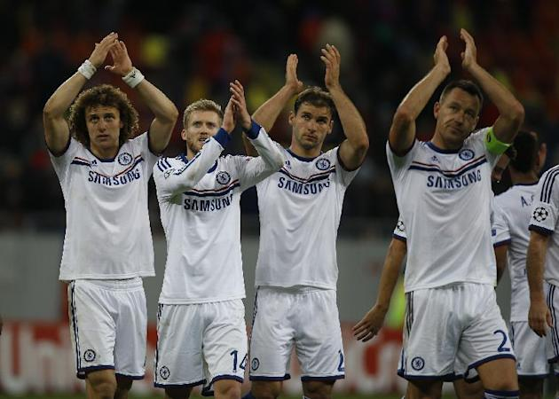 Chelsea, Borussia bounce back in Champions League