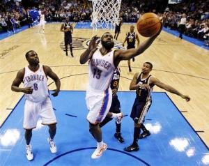 Rested Thunder throttle weary Jazz 111-85