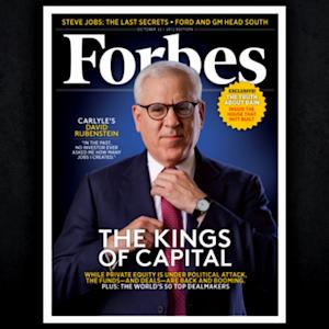 "Billionaire David Rubenstein's ""Jewish guilt"""