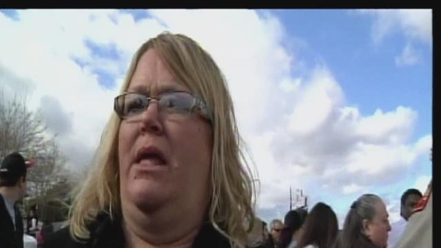 Parents and students react to Taft High School Shooting