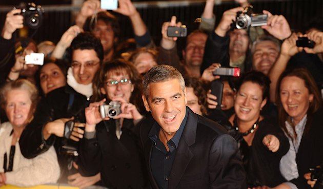 London BFI Film Festival 2009 George Clooney