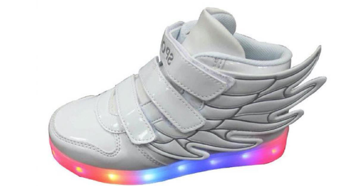 LED Sneakers for Kids $52 Originally $79, Buy Now!