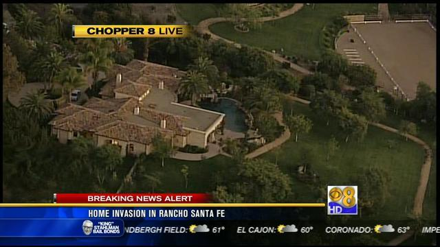 Violent home invasion robbery in Rancho Santa Fe