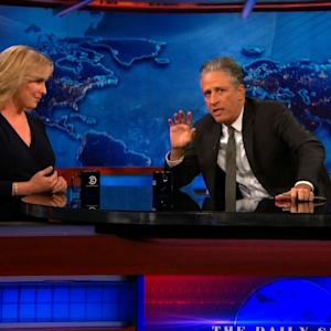Stewart Grills Gillibrand for Names in Congress Opposing 9/11 Bill
