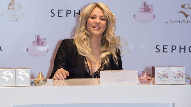 Shakira Launches New Perfume Line