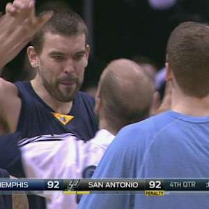 Gasol Forces Overtime