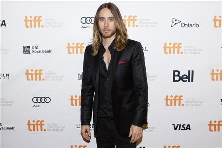 "Cast member and musician Jared Leto arrives for the ""Dallas Buyers Club"" film screening at the 38th Toronto International Film Festival in Toronto"