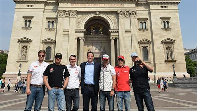 WTCC - Drivers meet press in Budapest