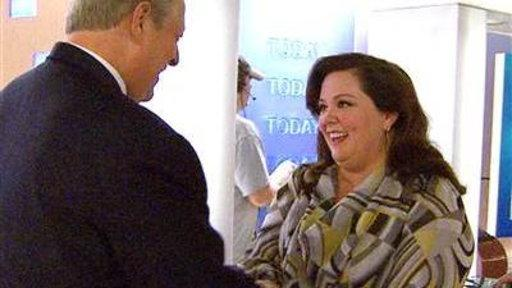 Melissa McCarthy to Al Gore: 'You Make Me Hopeful'