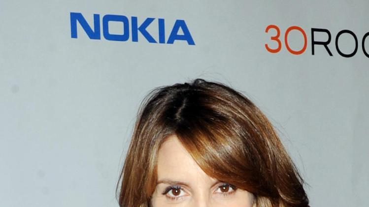 "IMAGE DISTRIBUTED FOR NOKIA - Tina Fey attends the Nokia ""30 Rock"" wrap party on Thursday, Dec. 20, 2012 in New York. (Photo by Scott Gries/Invision for Nokia/AP Images)"