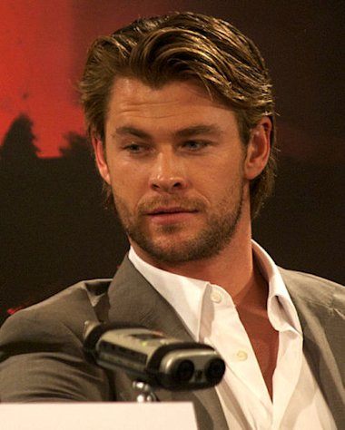 "Chris Hemsworth heats up in ""Thor."""