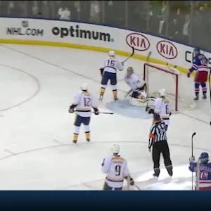 Chris Kreider Goal on Pekka Rinne (04:14/2nd)