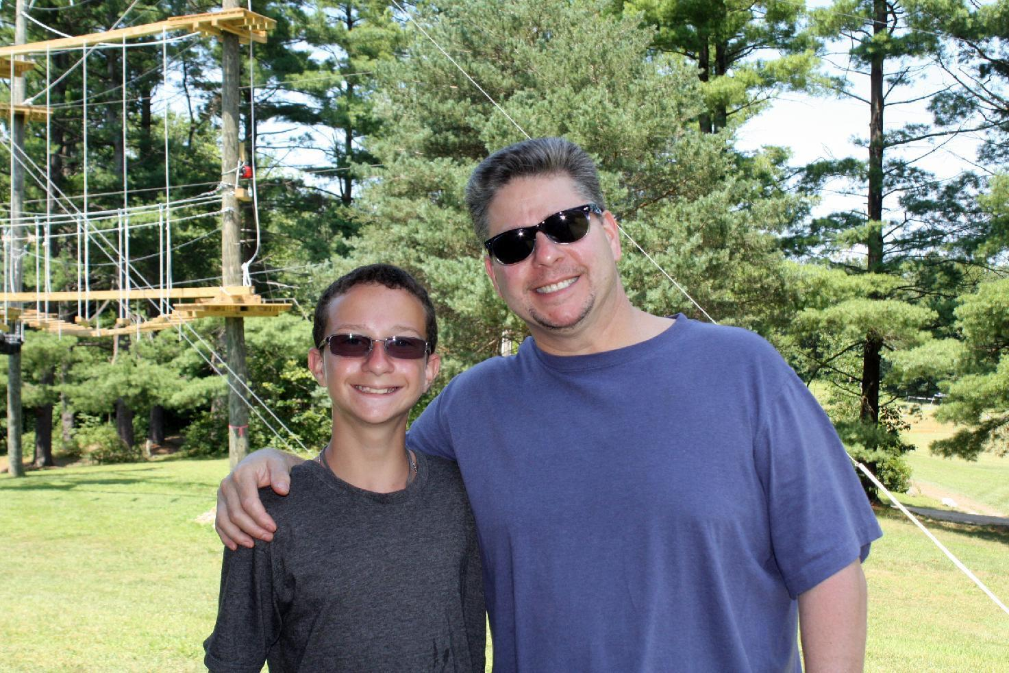 Visiting day at summer camp can be hard on parents and kids