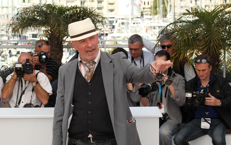 Director Jacques Audiard poses during a photo call for Rust and Bone at the 65th international film festival, in Cannes, southern France, Thursday, May 17, 2012. (AP Photo/Joel Ryan)