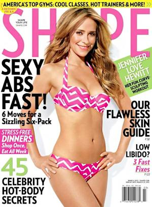 "Jennifer Love Hewitt Was ""Very Nervous"" About Wearing a Bikini on Shape Cover"