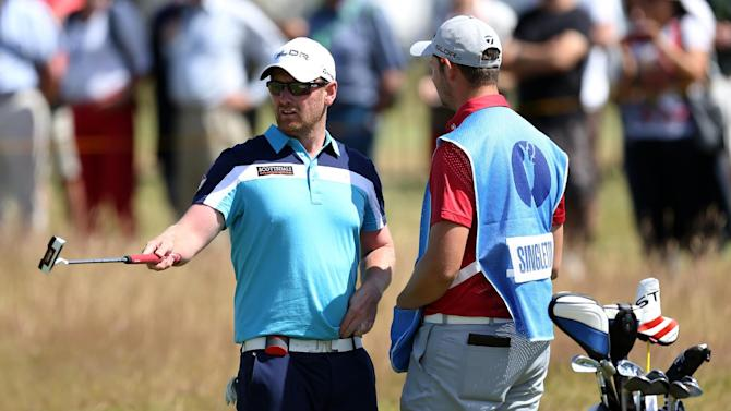Factory worker makes most of British Open chance