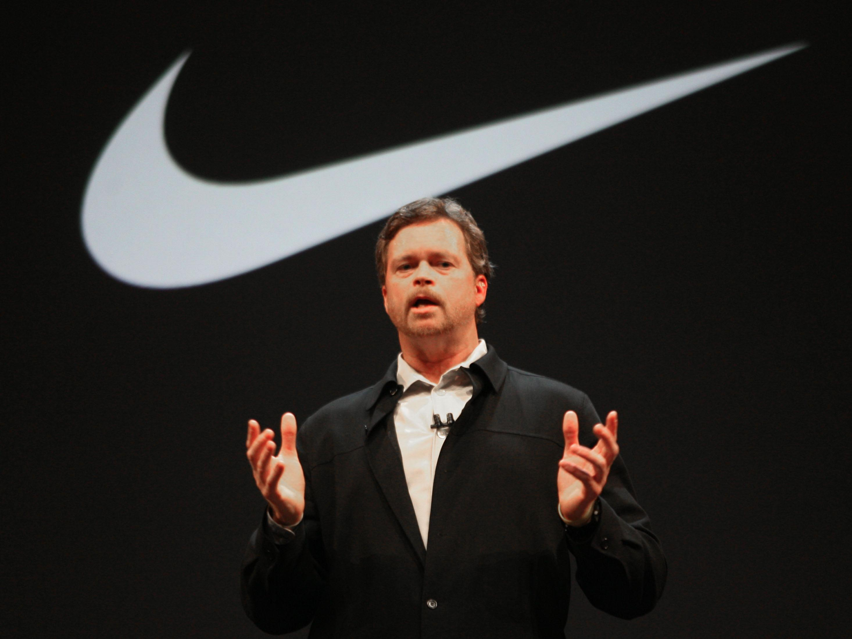 Nike's CEO explains why athletes are the company's biggest source of inspiration