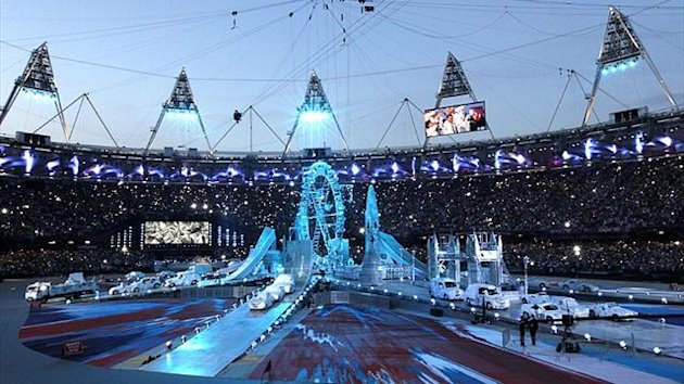 The closing ceremony of the London Olympics (Reuters)