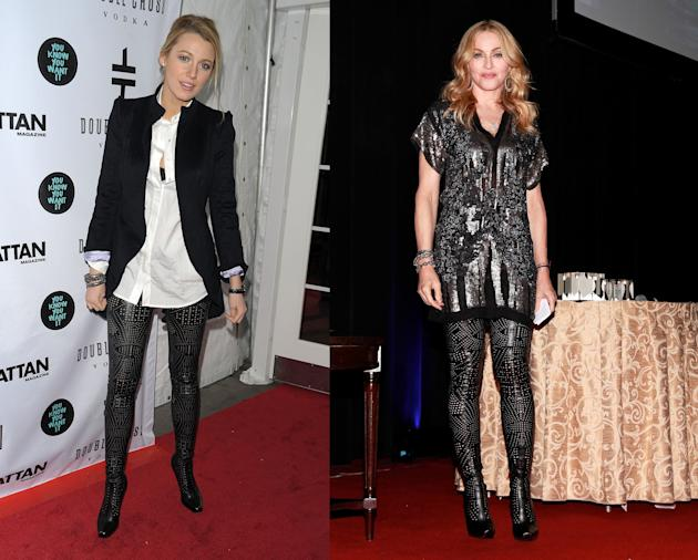 Blake Lively vs. Madonna in Stella McCartney