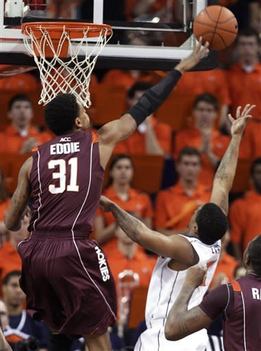 Harris' 26 lead Virginia past Virginia Tech, 73-55