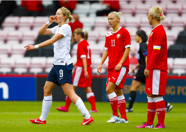Soccer - FIFA Womenâs World Cup 2015 -Group 6 Qualifier - England Women v Belarus Women - Dean Court