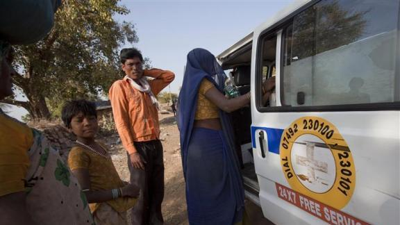India's maternity outposts