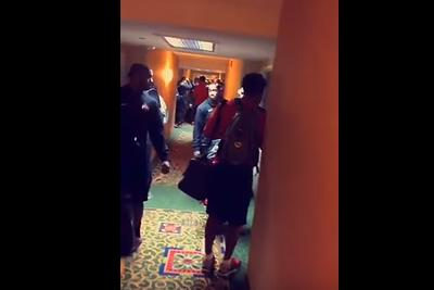 Ohio State players were locked out of their hotel rooms ahead of Michigan game