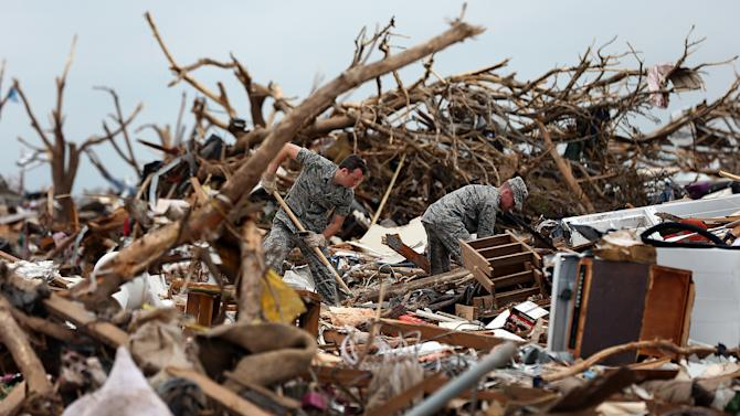 Moore Residents Begin Painful Recovery From Massive Tornado Strike