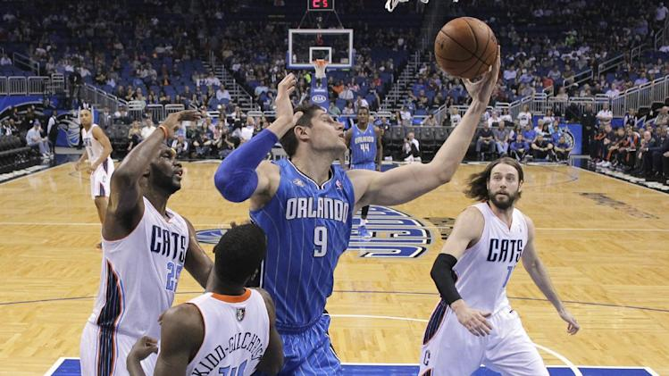 Magic edge Bobcats 110-105 in OT