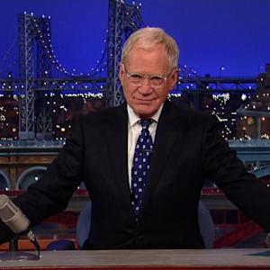 David Letterman's Emotional 'Late Show' Sign Off