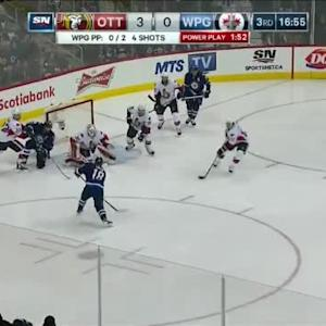 Andrew Hammond Save on Bryan Little (03:07/3rd)