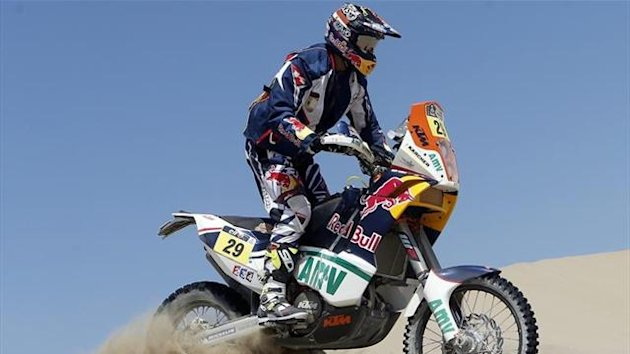 Kurt Caselli at Dakar 2013