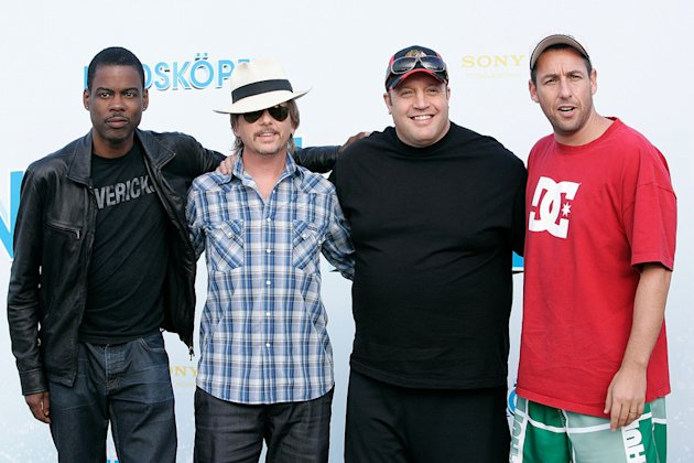 Kevin James 2010 Chris Rock David Spade Adam Sandler