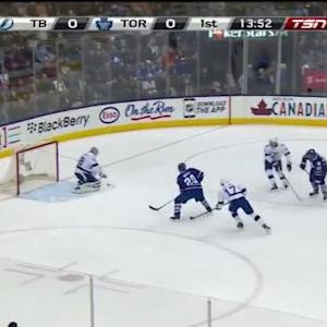 Andrei Vasilevskiy Save on Trevor Smith (06:09/1st)