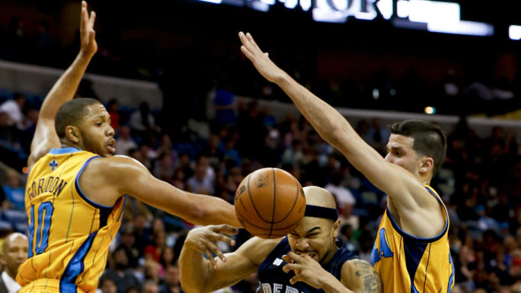 NBA: Memphis Grizzlies at New Orleans Hornets