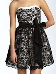Nordstrom lace dress, $78.00.