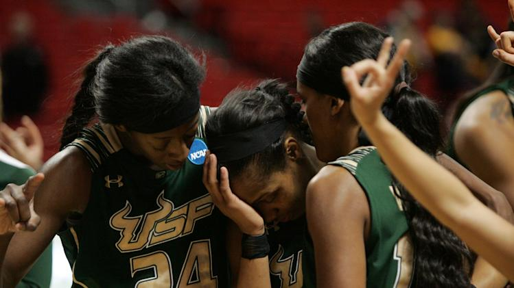 NCAA Womens Basketball: NCAA Tournament-California vs South Florida
