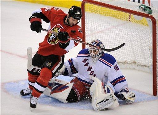 Rangers' Lundqvist makes 39 saves in 1-0 win