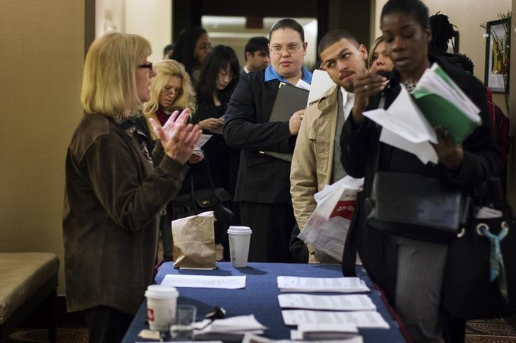 U.S. jobless claims point to firmer labor market