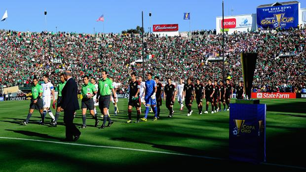 2013 Gold Cup to kick off with Mexico at the Rose Bowl