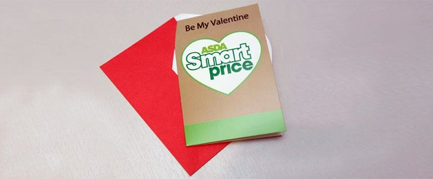 What a 7p ASDA Smartprice Valentine&#39;s Day card looks like (Image  Solent)