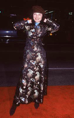 Fran Drescher at the premiere of Paramount's Titanic