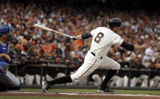 Giants complete sweep of Dodgers