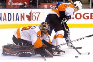 Flyers blank Maple Leafs 1-0