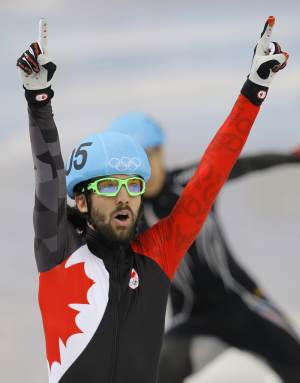 Canada's Hamelin wins gold in 1,500 short track