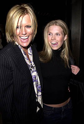 Patti Hansen and Theodora Richards at the New York premiere of Miramax's Bridget Jones's Diary