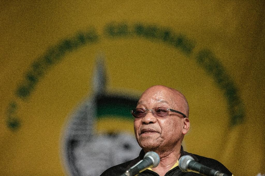 S.Africa's Zuma admits ruling ANC seen as corrupt, losing support